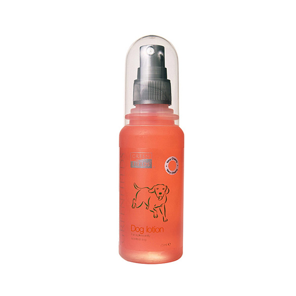 Greenfields Dog lotion very cherry