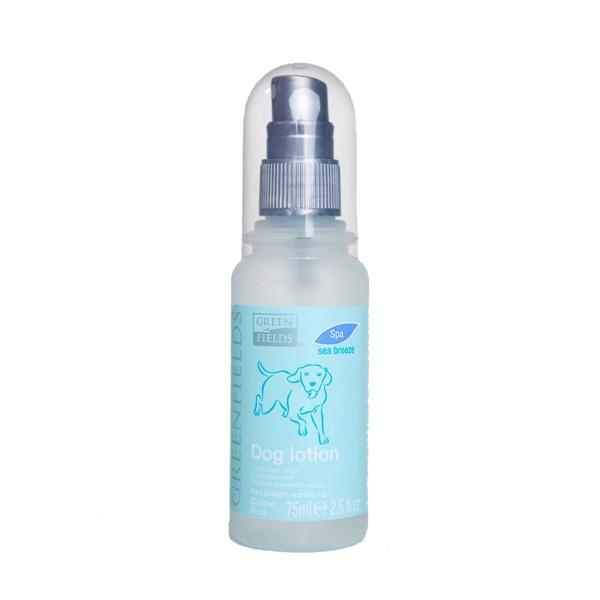 Greenfields Dog lotion spa sea breeze
