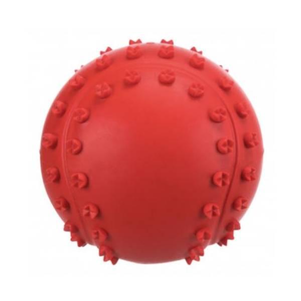 Trixie Natural Rubber Toys - Toy Ball bodljikava