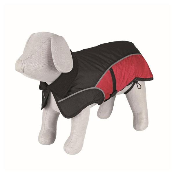 Trixie Dog Clothing - Avallon Coat crno-crveni