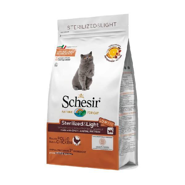 Schesir Dry sterilized and light piletina