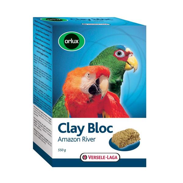 Versele Laga Orlux clay bloc Amazon river 550gr