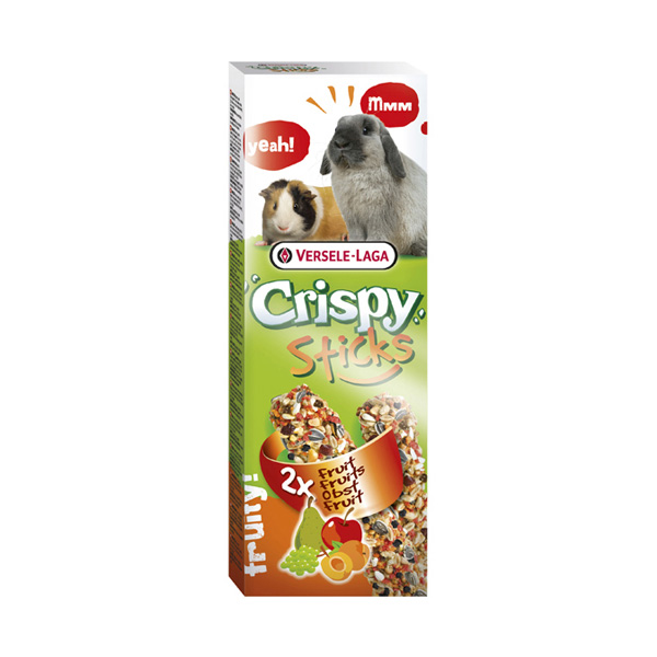 Versele Laga 2 stick rabbit and guinea pig fruit 110gr