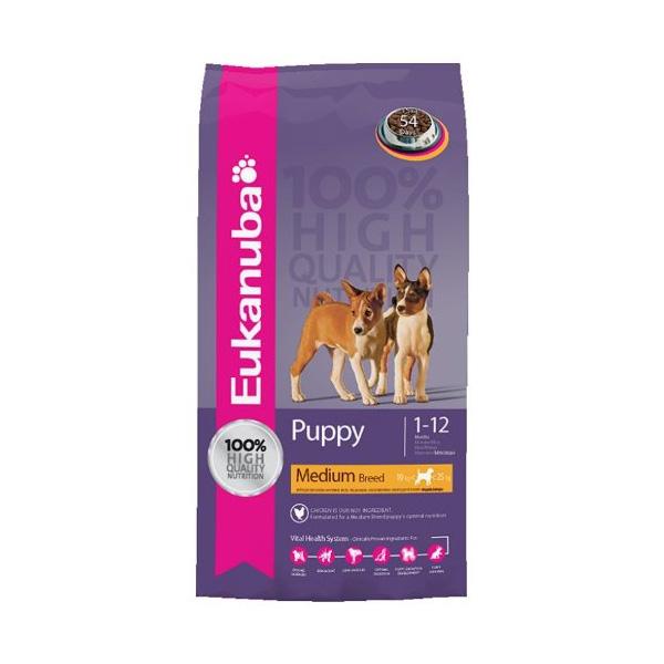 Eukanuba Puppy - Medium Breeds 19kg | Apetit shop