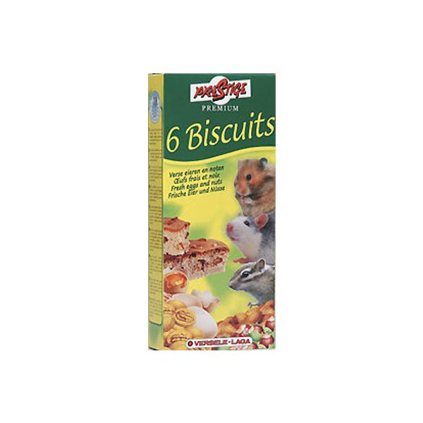 Versele Laga, 6 Biscuits, biskivit od orašastog voća i jaja za hrčka, vevericu i miša