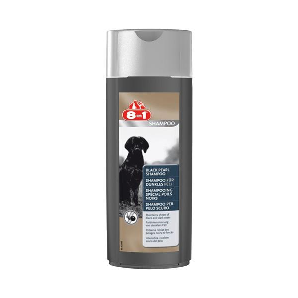 8 in1 Black pearl, šampon za pse