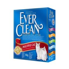 Ever clean Mulitple cat 10kg - Apetit shop