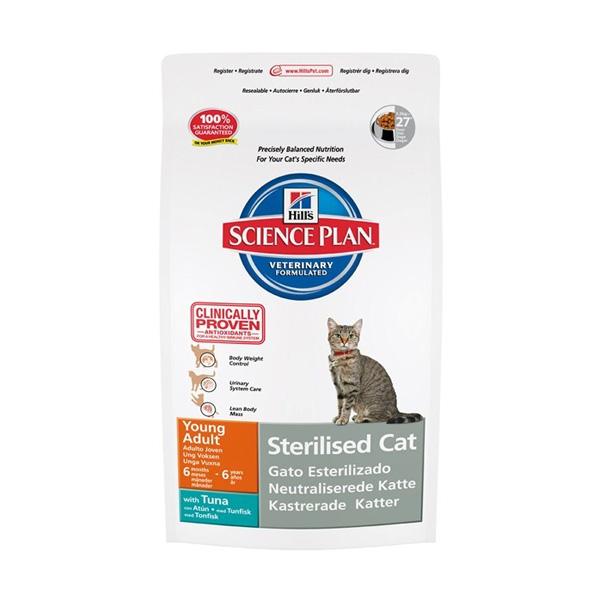 Hills Feline sterilised cat tuna