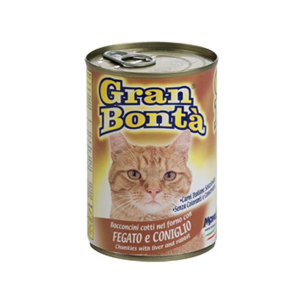 Monge Gran Bonta džigerica i zečetina, hrana za mačke, konzerva