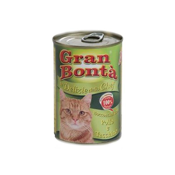 Monge Gran Bonta Chef piletina i ćuretina, hrana za mačke