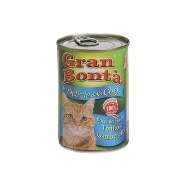 Monge Gran Bonta Chef tunjevina i gambori, hrana za mačke