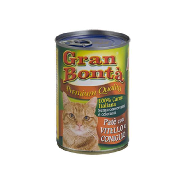 Monge Gran Bonta Del. teletina i zec, pašteta za mačke