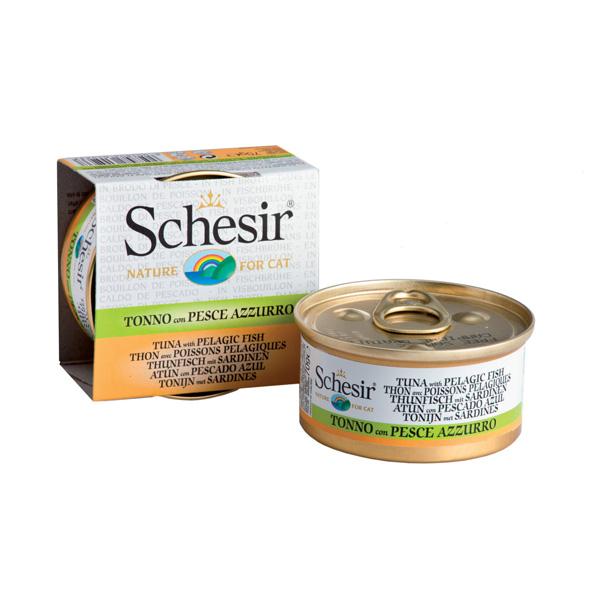 Schesir Cat tunjevina i sardina u prirodnom sosu