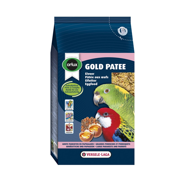 Versele Laga Orlux Gold Patee Parrots and Big Parakeets
