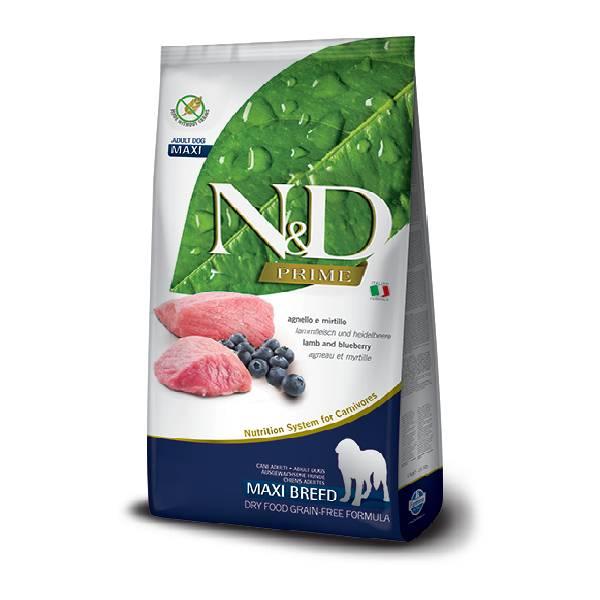 Farmina N&D Prime Lamb&Blueberry adult dog maxi