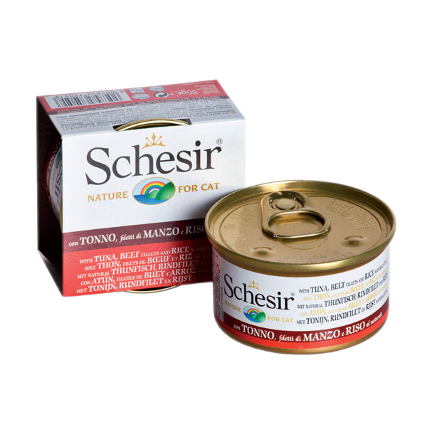 Schesir Jelly tunjevina, govedina, pirinač u sopstvenom soku