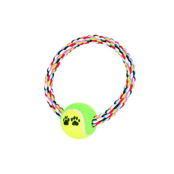 Trixie Denta Fun prsten od kanapa sa loptama