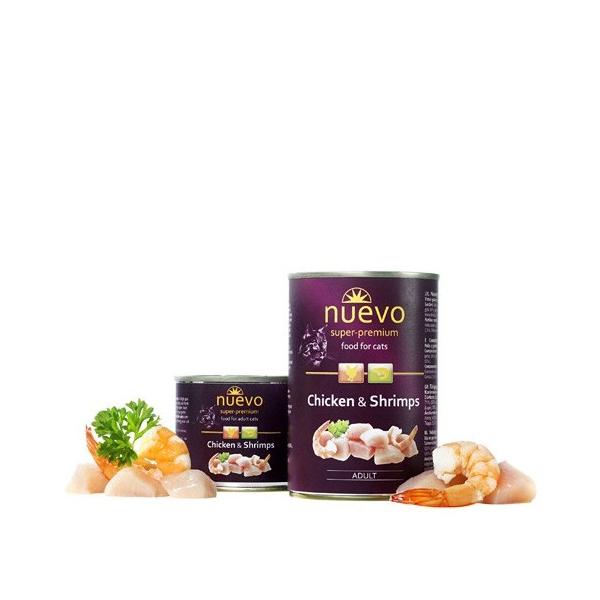 Nuevo Chicken & Shrimps Grain Free hrana za mačke piletina i škampi