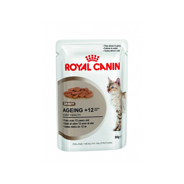 Royal Canin Ageing + 12 vlažna hrana za mčke starije od 12 god