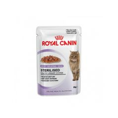 Royal Canin Sterilised in jelly vlažna hrana za sterilisane mačke 12 kom x 85 gr  - Apetit shop