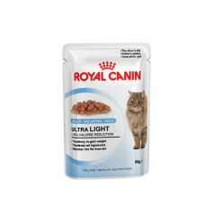 Royal Canin Ultra Light in jelly vlažna hrana za mačke 12 kom x 85 gr  - Apetit shop