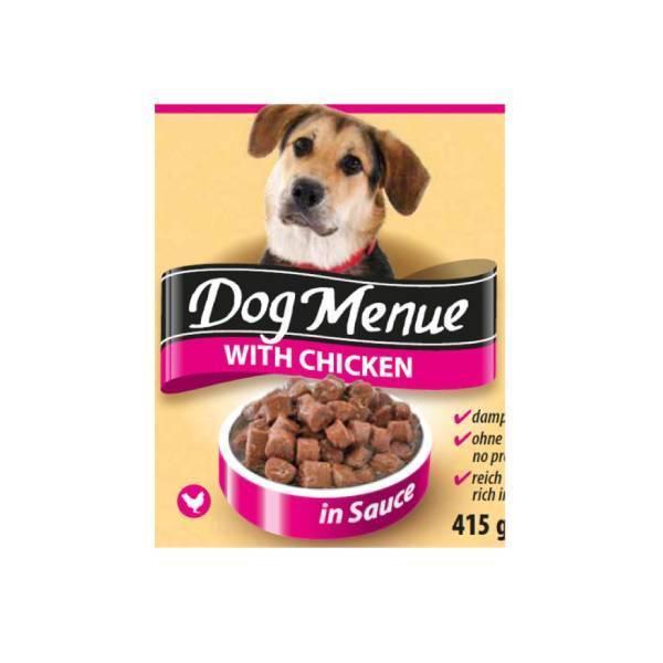 Austria Pet Food Dog Menu, piletina, konzervirana hrana za pse