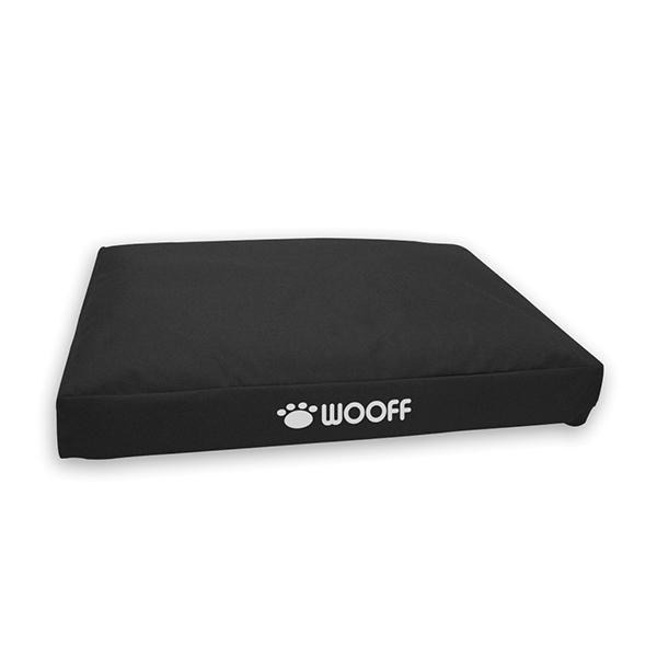 Wooff Box ležaljka za pse crna