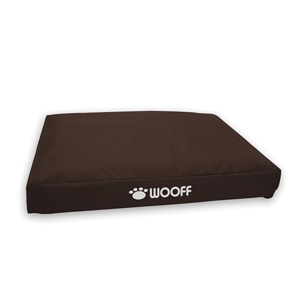Wooff Box ležaljka za pse braon