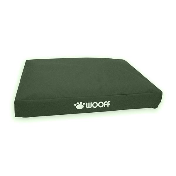 Wooff Box ležaljka za pse maslinasta