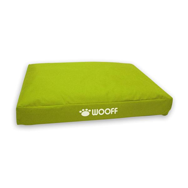 Wooff Box ležaljka za pse svetlo zelena