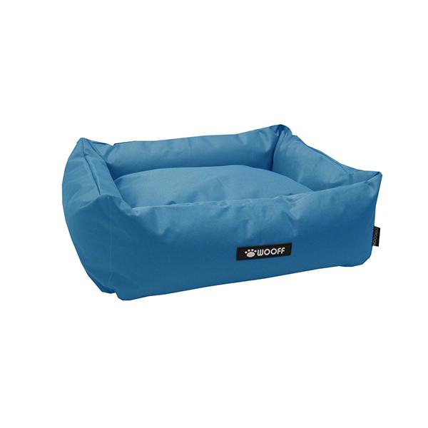 Wooff Cocoon ležaljka za pse svetlo plava