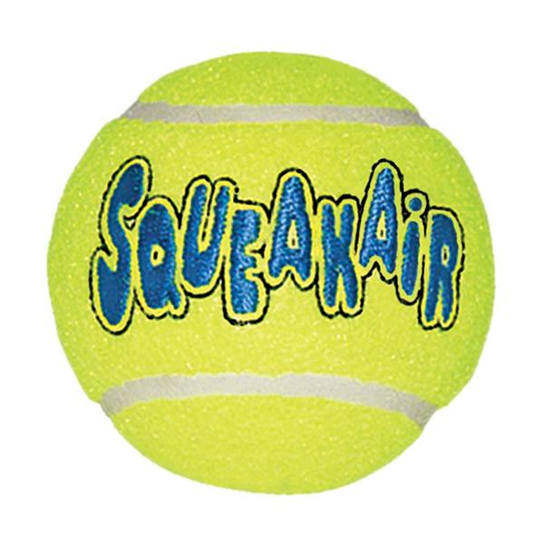 Kong Air Squeaker Tennis Ball, igračka za psa