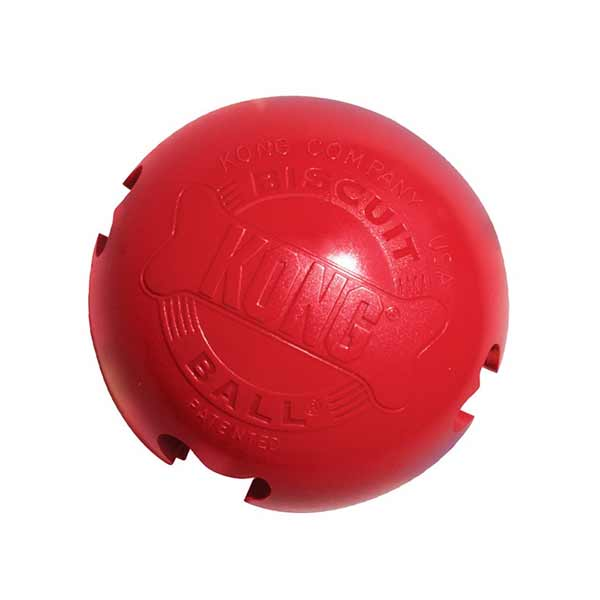 Kong Biscuit Ball Small, igračka za psa