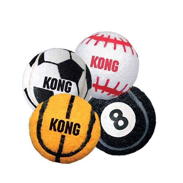 Kong Sport Balls 3 kom., igračka za psa