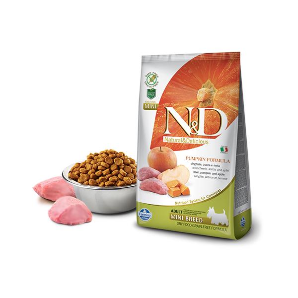 Farmina N&D Pumpkin Mini Adult Boar&Apple