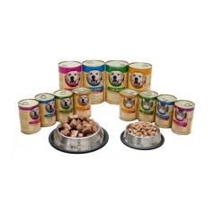 Austria Pet Food Game & Pasta with Carrots konzerva za pse 1.24 kg - Apetit shop