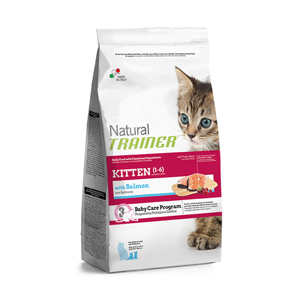 Trainer Natural Kitten Salmon hrana za mačiće, losos