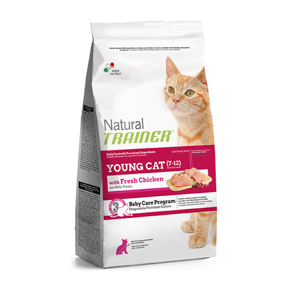 Trainer Natural Young Cat hrana za mlade mačke