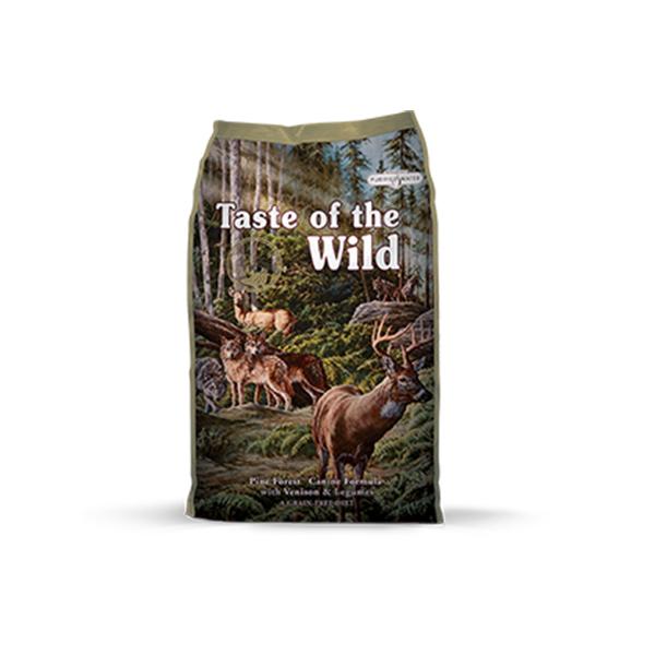 Taste of the Wild Pine Forest Canine hrana za pse, srna i mahunarke