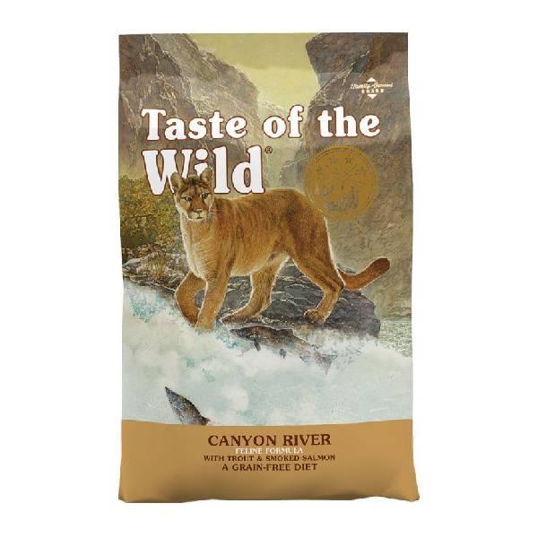 Taste of the Wild Canyon River Feline hrana za mačke, pastrmka i dimljeni losos | Apetit shop - Online prodaja hrane i opreme za kućne ljubimce