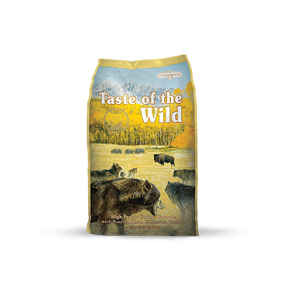 Taste of the Wild High Prairie Canine hrana za odrasle pse, srna i bizon