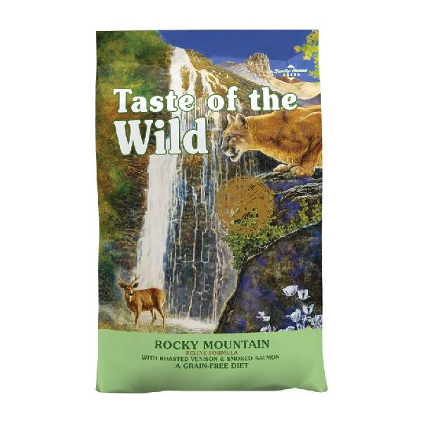 Taste of the Wild Rocky Mountain Feline hrana za mačke, srna i dimljeni losos