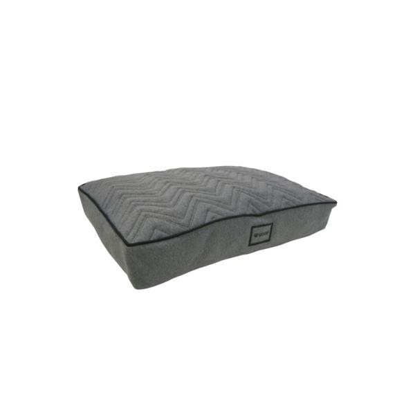 Wooff Box Jersey Quilt ležaljka za pse crna dimenzije