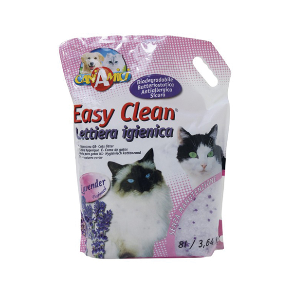 Croci Easy Clean, lavanda, posip za mačke, granulirajući sa lavandom