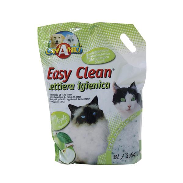 Croci Easy Clean, zelena jabuka, posip za mačke, granulirajući sa mirisom zelene jabuke