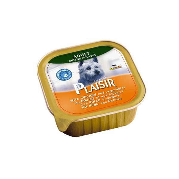 Plaisir pašteta za pse, piletina i povrće