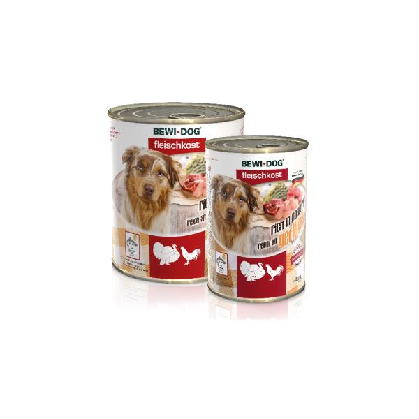 Bewi Dog Poultry vlažna hrana za pse, živina