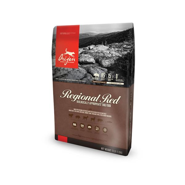 Orijen Regional Red hrana za pse, crveno meso