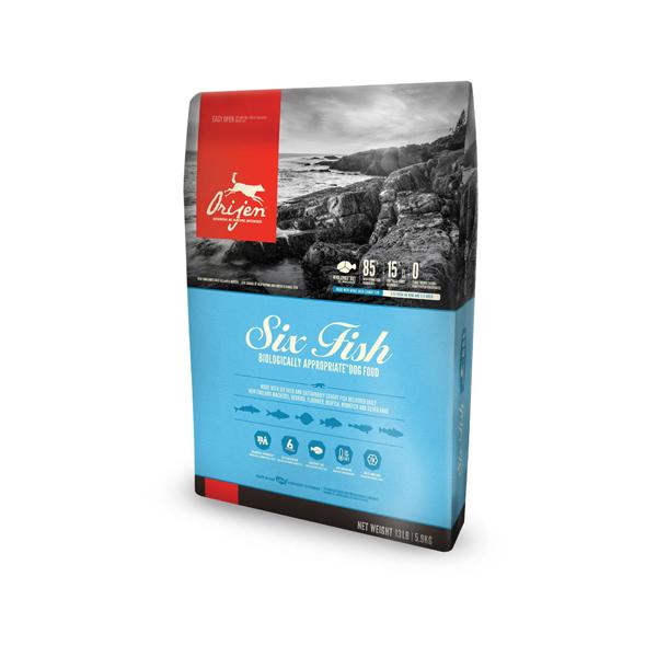 Orijen Six Fish hrana za pse, riba, povrće/voće  | Apetit shop - Online prodaja hrane i opreme za kućne ljubimce