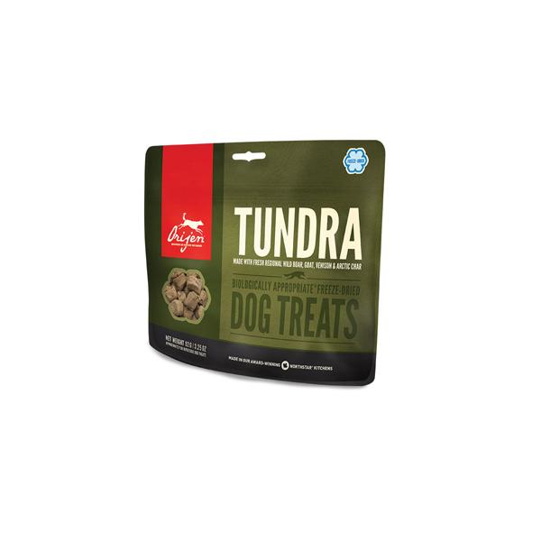 Orijen FD poslastice Tundra poslastica za pse, divlja svinja, džigerica, kozje meso